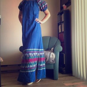 100% Cotton Guatemalan Dress. EUC.